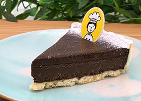 チョコレートのタルト